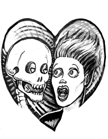 skullgirldrawing