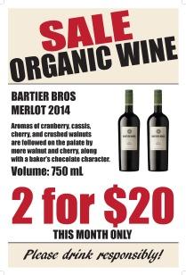 SIGN wine 20 x 30