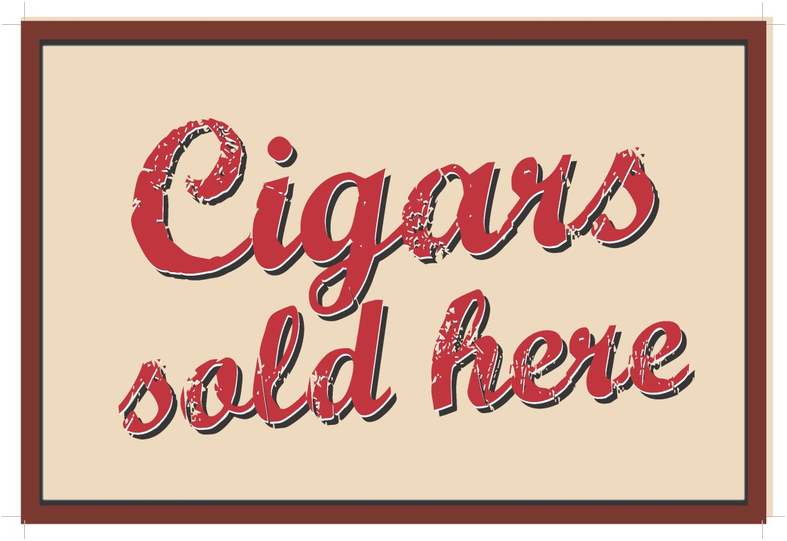 sign_cigars 10 x 15